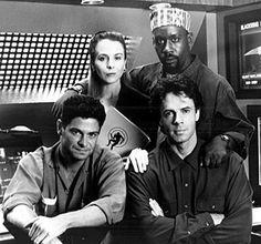 Signy Coleman, Sami Chester, Kirk Baltz, and Rick Springfield (Human Target - 1992)