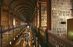 Trinity College Library – Dublin, Irland