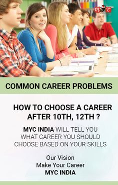 Common #Career Problems how to choose a career after #10th #12th? @MYC INDIA Will Tell You What Career You Should Choose Based on Your Skills Our Vision Make Indian Student Career