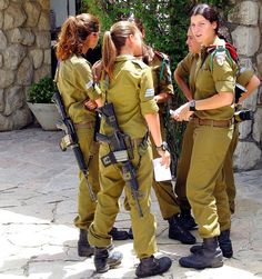 Much respect for the women of the IDF