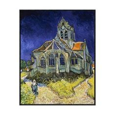 Church At Auvers 32x34 now featured on Fab.