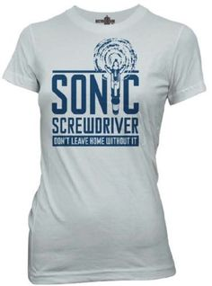 Sonic Screwdriver Tee