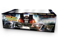 Back to The Future Delorean Time Machines Collection 3 Car Set 1/43 Vitesse