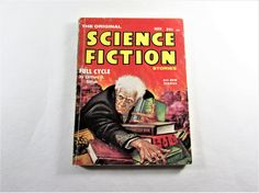 The Original Science Fiction Stories November by EtagereAntiques