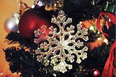 Love Christmas Time and Snowflakes
