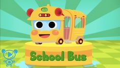 Bus for Kids Car Wash Learning Numbers