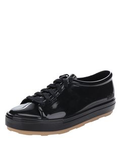 Černé lesklé tenisky Melissa Be Vans Old Skool, Sneakers, Shoes, Tennis, Slippers, Zapatos, Shoes Outlet, Sneaker, Shoe