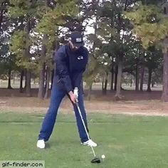 "Share this ""Amazing tricks with a golf club"" animated gif image with everyone. is best source of Funny GIFs, Cats GIFs, Dog GIFs to Share on social networks and chat."