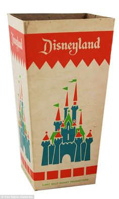 Auction of vintage Disneyland memorabilia to take place | Daily Mail Online