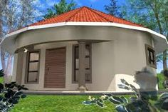Astounding Ideas Free Rondavel House Plans 14 1 Bedroom Wwwvhouseplanscom On Homec Round House Plans, My House Plans, Cottage House Plans, House Floor Plans, 1 Bedroom House Plans, Single Storey House Plans, Octagon House, Affordable House Plans, African House