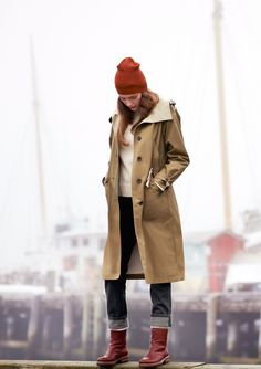 LONG PARKA by TOAST