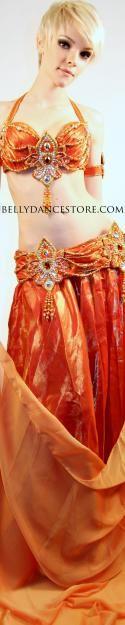 Beautiful, creative costume in my favorite color: Orange!