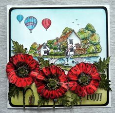 Lisa's Craft Garden: My Sheena Douglass Samples Sheena Douglass, Frantic Stamper, Spectrum Noir, Remembrance Day, Crafters Companion, Cardmaking, Poppies, Paper Crafts, Victorian