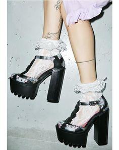 Cat Lady Platform Heels