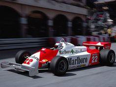 F1 Alfa Romeo 179C - Mario Andretti - Monaco 1981