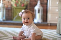 We LOVE a good romper--it's the easiest way to dress a baby from birth to 12 months. How gorgeous does this little cupcake look? Kids Wear, 12 Months, Birth, Cupcake, Maternity, Flower Girl Dresses, Nyc, Rompers, How To Wear