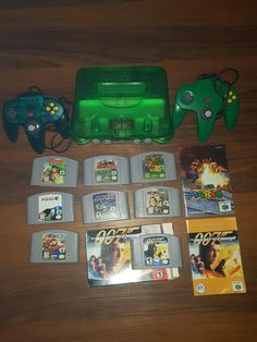 nintendo 64 bundle ice blue console launch edition w 2 controllers