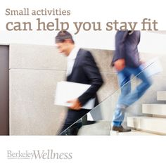 Small activities like stair climbing and short walks really make a difference to your #fitness, says research  http://www.berkeleywellness.com/fitness/active-lifestyle/article/small-activities-pay-fitness?ap=2012