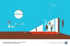 Volkswagen Ads Prints by Tom Haugomat4