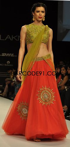 http://www.barcode91.com/ Shilpa Reddy's ethnic collection at Lakme Fashion Week Winter /Festival 2013