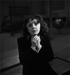 "Emile Savitry     Edith Piaf lors d'une répétition avec les Compagnons de la Chanson    c.1950    ""I want to make people cry even when they don't understand my words."" Edith Piaf"