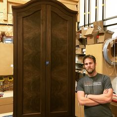 When you have guys in your team that take pride in their work from beginning to end - you know the end result will be great! From Beginning To End, Armoire, Pride, Guys, Furniture, Beauty, Home Decor, Clothes Stand, Decoration Home