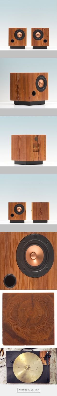 Fern & Roby Cube Speakers - Design Milk - created on Open Baffle Speakers, Wooden Speakers, Diy Speakers, Built In Speakers, Stereo Speakers, Echo Speaker, Sound Speaker, Audio Design, Speaker Design