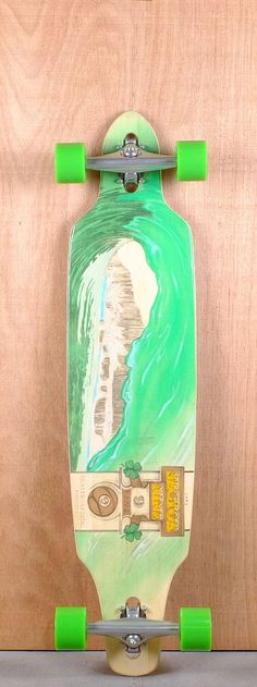 """Sector 9 41"""" Lookout Bamboo Longboard Complete Bottom"""