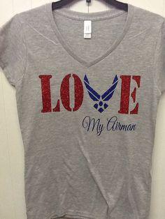 Military Air Force Love