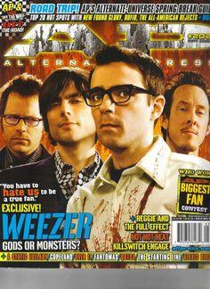 Weezer - Alternative Press Magazine Cover