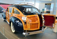 1941 Chrysler Town & Country Station Wagon by scott597, via Flickr