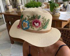 Hats, Fashion, Embroidered Hats, Sombreros, Moda, Hat, La Mode, Fasion, Fashion Models