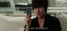 Pin for Later: 12 of the Worst Things That Could Happen to You When Texting Someone Texting You Repeatedly After You Don't Respond I got your message and am either busy or busy ignoring you.  Source: Seoul Broadcasting System