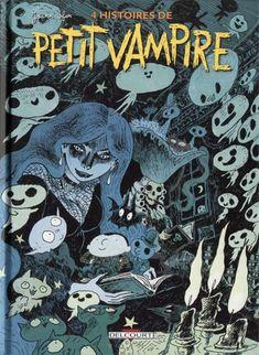 Book Cover Designs: Petit Vampire Joann Sfar