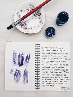 I am sharing 7 of my favorite excerpts from my writing journal    // art journal, diy craft idea for teens, writers, lifestyle bloggers, art //