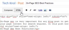 How to Publish a New Blogger Blog Post with On-Page SEO.