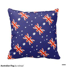 Australian Flag Pillows