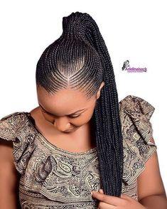 African Braids Hairstyles 316940892529982701 - Best 2019 African Braided Hairstyles : Super Cute and Trending Braids Ideas Source by elfneshwoldegio Natural Hair Braids, Braids For Black Hair, Natural Hair Styles, Short Hair Styles, Box Braids Hairstyles, Braids Hairstyles Pictures, Latest Ghana Weaving Hairstyles, Latest Ghana Weaving Styles, Braided Ponytail Hairstyles
