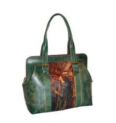 Ručne maľovaná kabelka 8221 inšpirovaná motívom John William