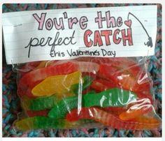 Valentines day fisherman treat