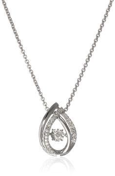 Silver dancing pendant chain