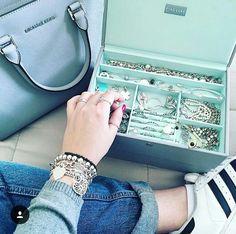 I really want this Tiffany blue stackers jewelry box
