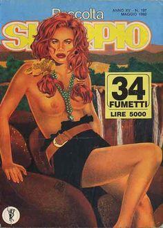 Fumetti EDITORIALE AUREA, Collana SKORPIO RACCOLTA n°197