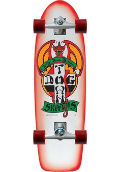 Dogtown OG-Classic-Red-Dog - titus-shop.com  #SkateboardComplete #Skateboard #titus #titusskateshop