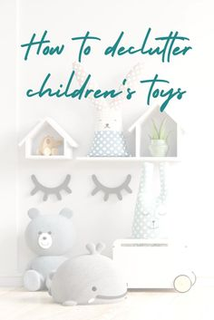 What is the secret to easily organise and declutter children's toys? How can you enable children to make decisions about which toys to keep? How do you know which toys to donate, trash or sell? How can you incentivise children to tidy and declutter their toys regularly? What are the best ways to store and organise toys in a child's bedroom or playroom? Find the answers to these questions and more in our article! Playroom Storage, Toy Storage, Bedroom Storage, Toddler Toys, Kids Toys, What Is The Secret, Toy Organization, Declutter, Game Room