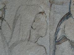 CHASSERIAU Théodore,1846 - Arabe barbu et autres Figures - drawing - Détail 12