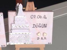 Hochzeit minileinwände Geschenk hediye
