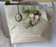 Pasztell rózsás táskám.