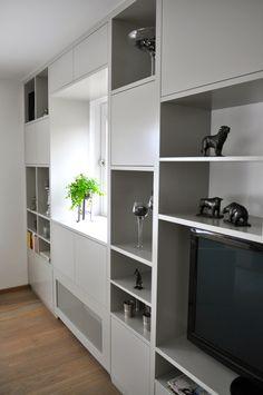wandkast op maat na STIJLIDEE Interieuradvies en Styling via www.stijlidee.nl