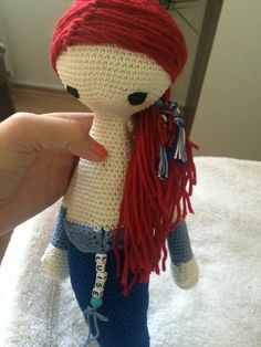 MICI the mermaid made by Anne M. / crochet pattern by lalylala